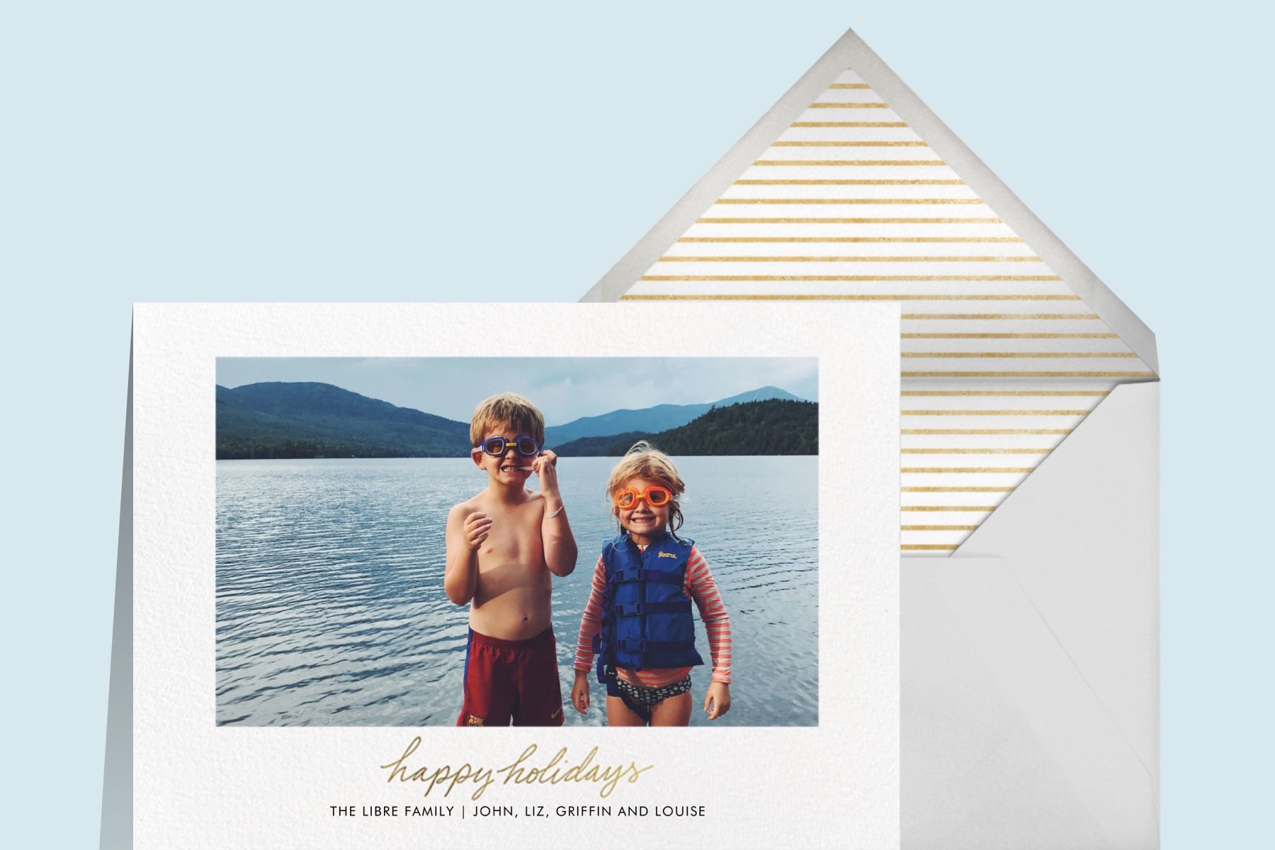 photo card holiday card ideas from Paperless Post