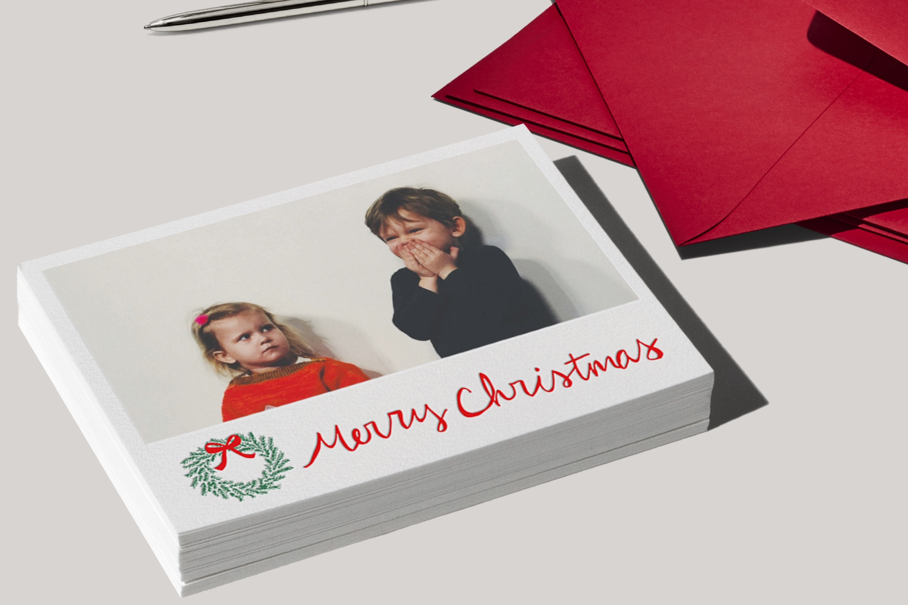 printed holiday card ideas from Paperless Post