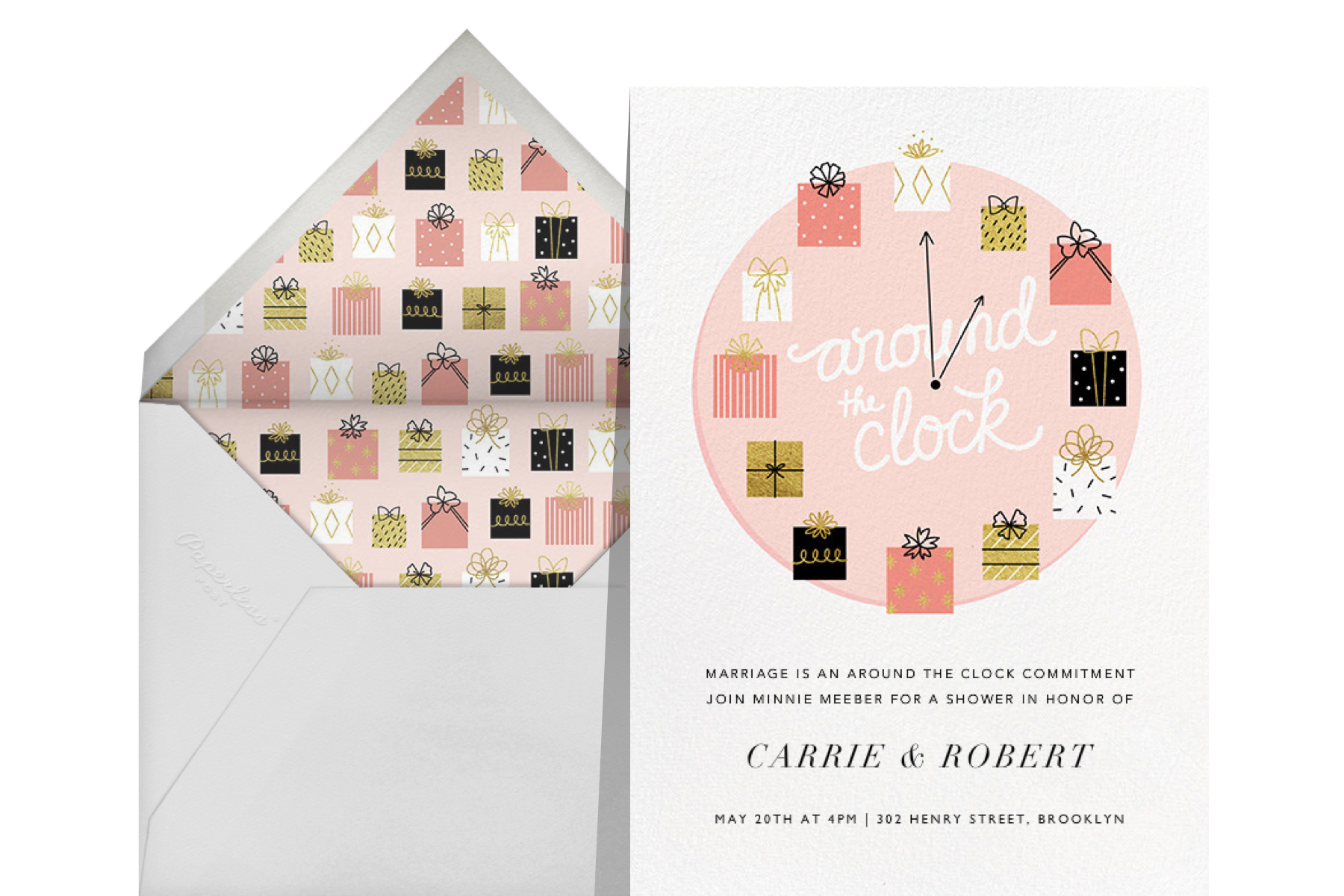"""""""Gifting Hour"""" by Paperless Post"""