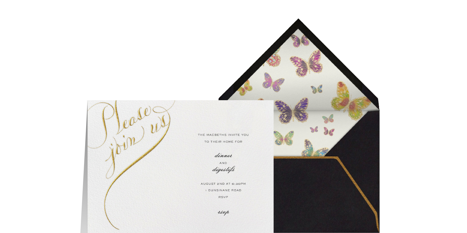 What to Write in a Dinner Party Invitation I Paperless Post