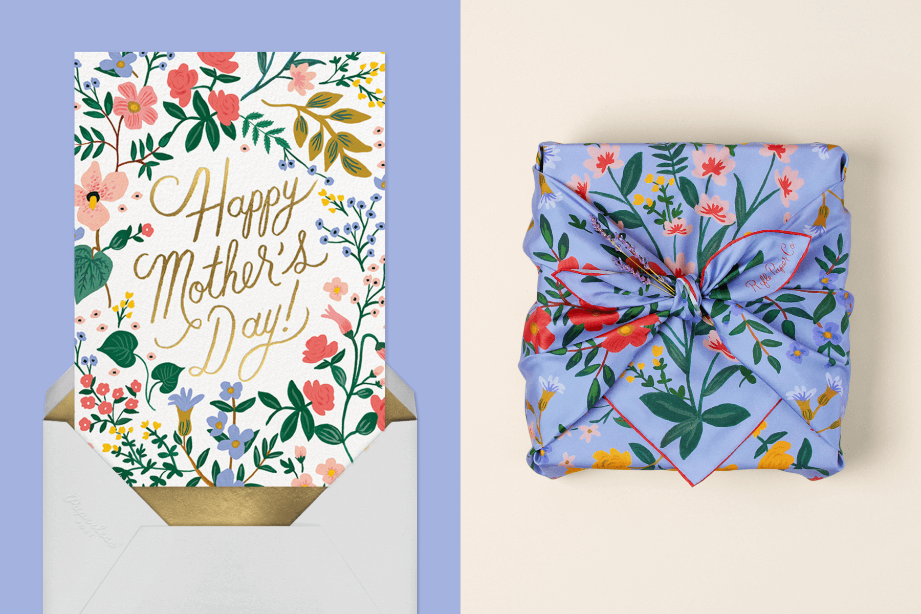 Wildwood Mother's Day by Rifle Paper Co. for Paperless Post | Wildwood Silk Scarf by Rifle Paper Co.