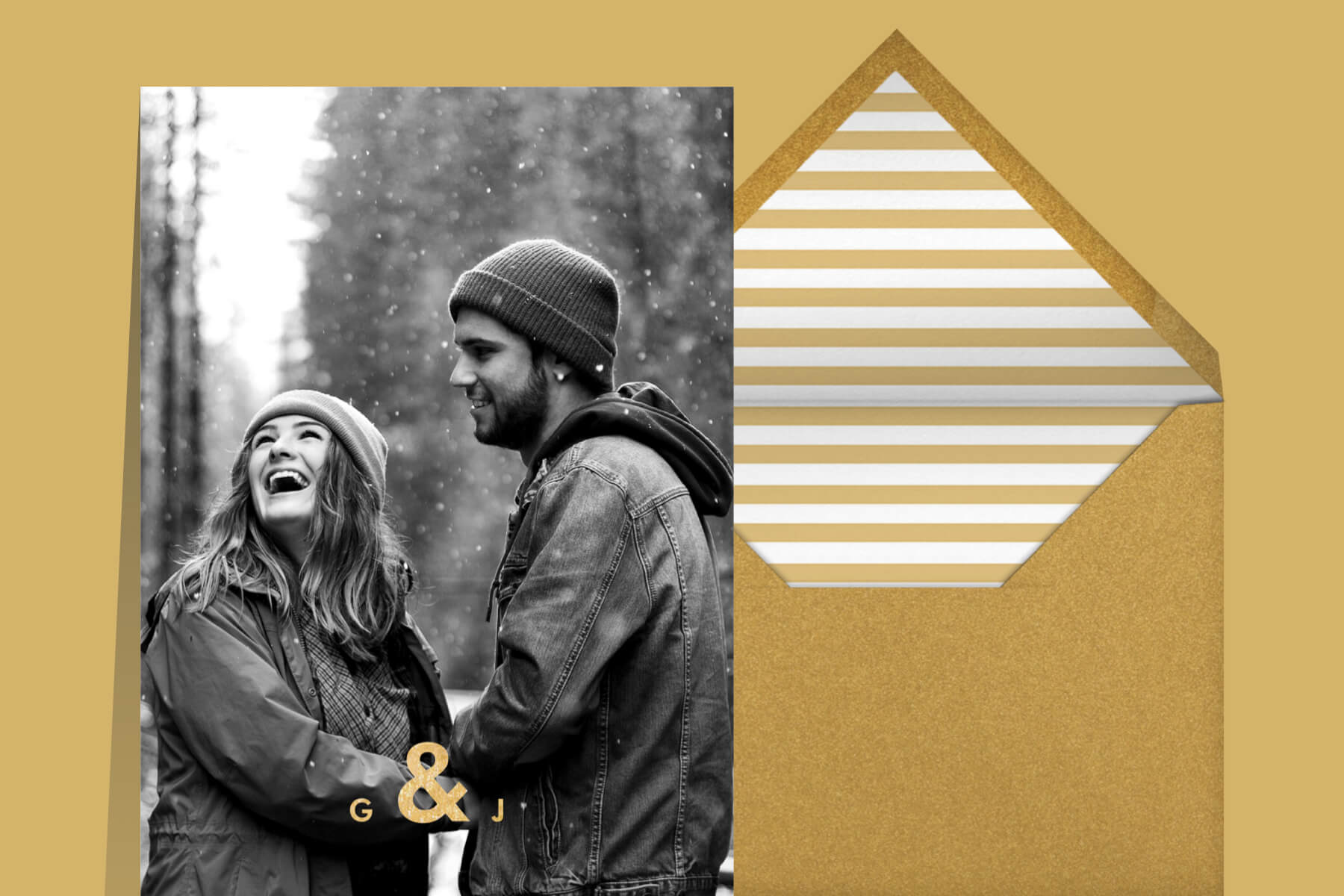 photo engagement party invitation