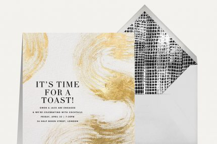 engagement party invitations that spark romance from Kelly Wearstler