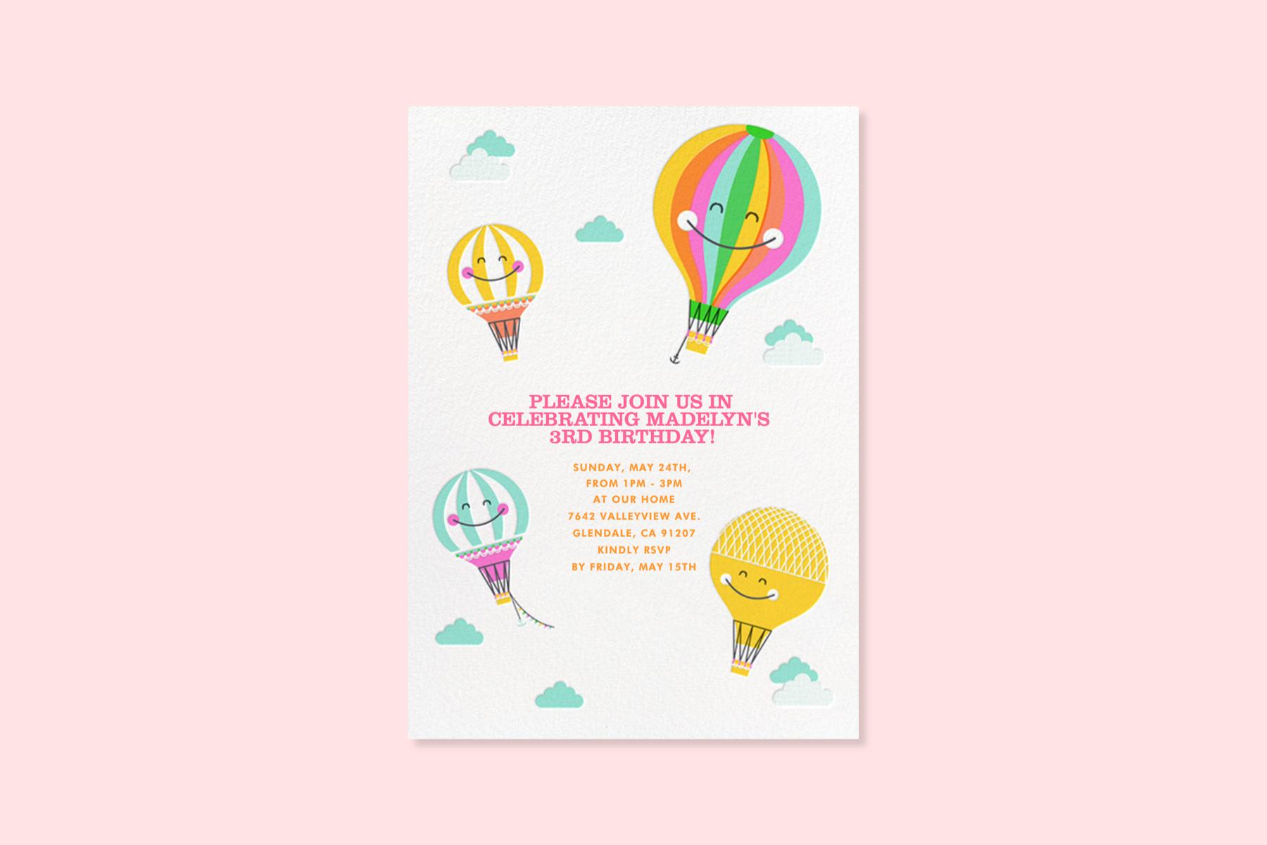 Kids Birthday Invitation Wording 101 Paperless Post Blog