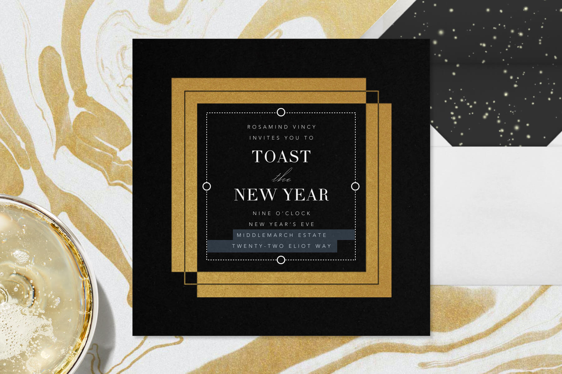 New Year S Eve Party Invitation Wording