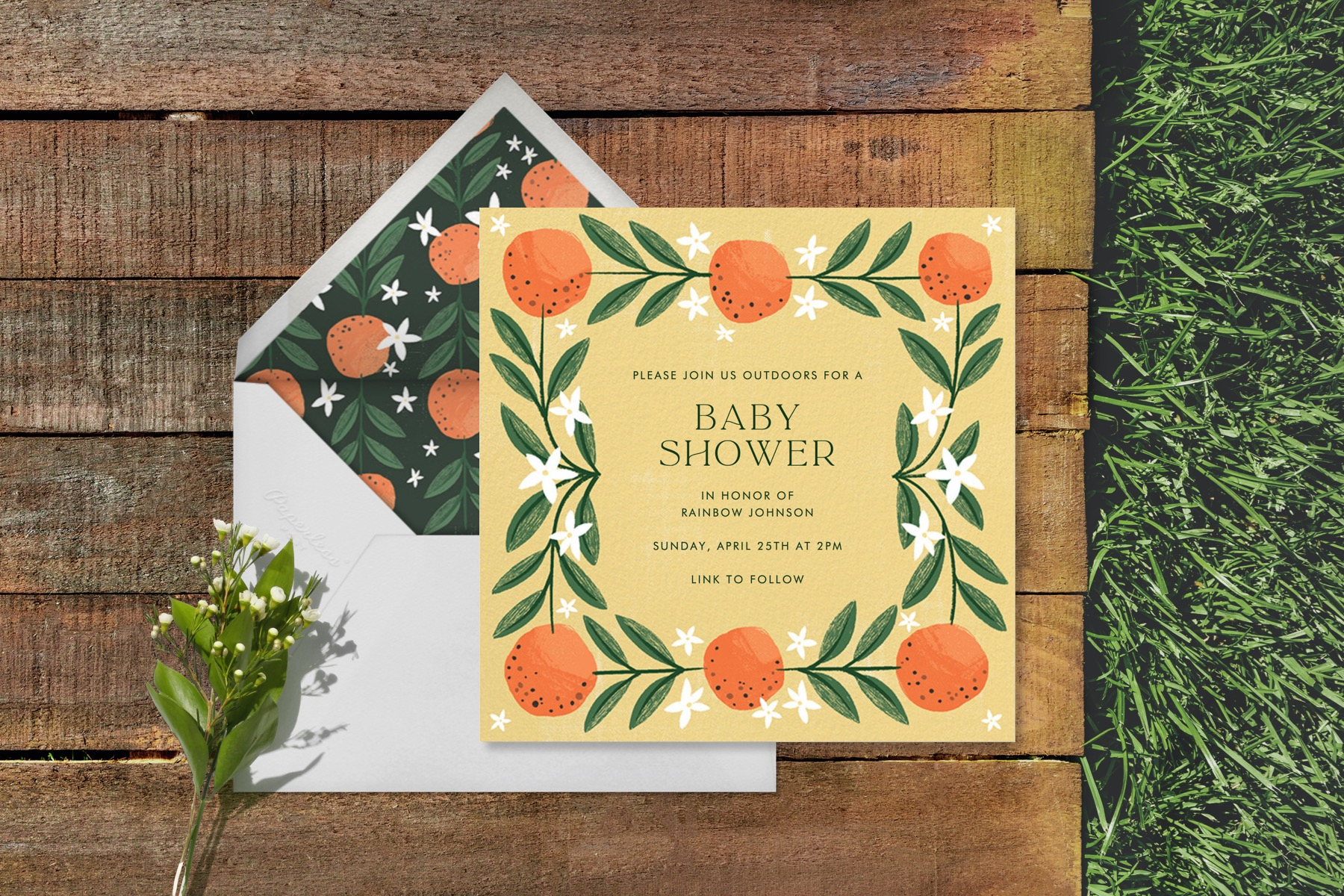 Outdoor Baby Shower Ideas That Will Help You Celebrate Your Growing Family