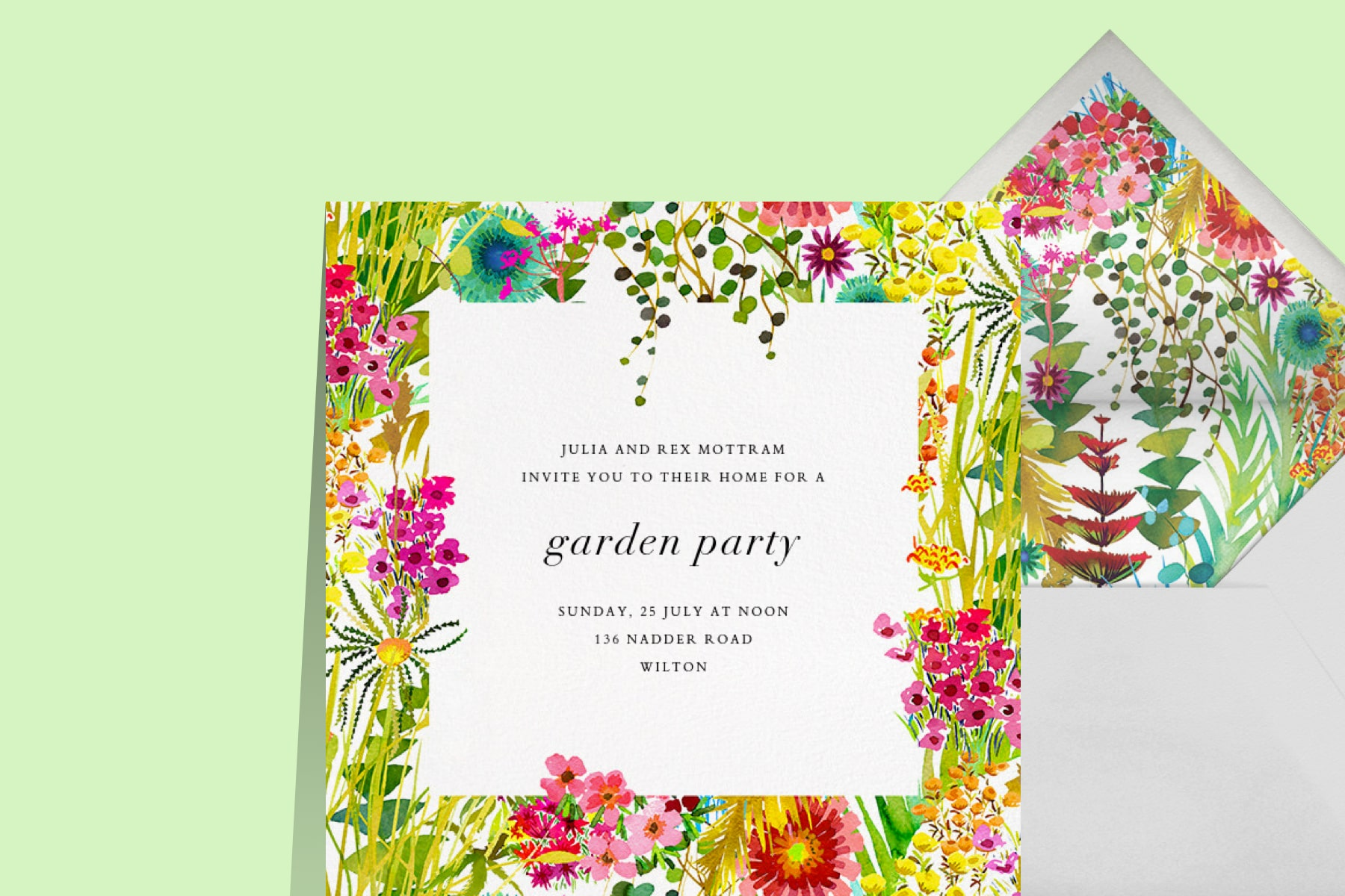 Tresco Invitation by Liberty x Paperless Post