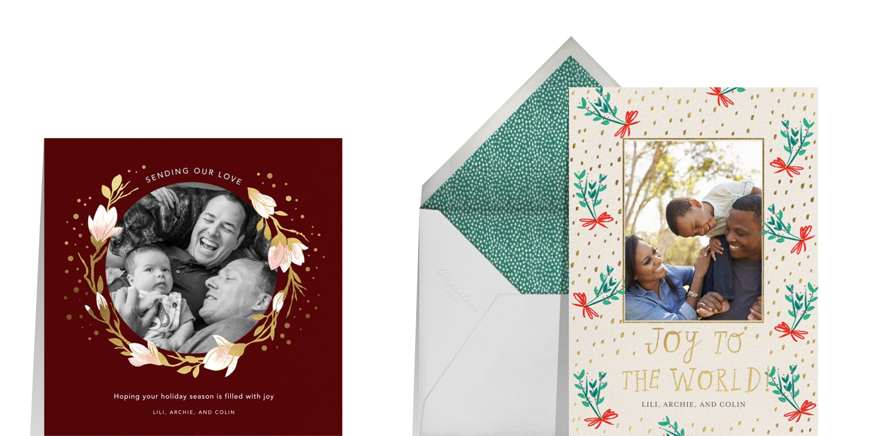 photo cards for friends and family