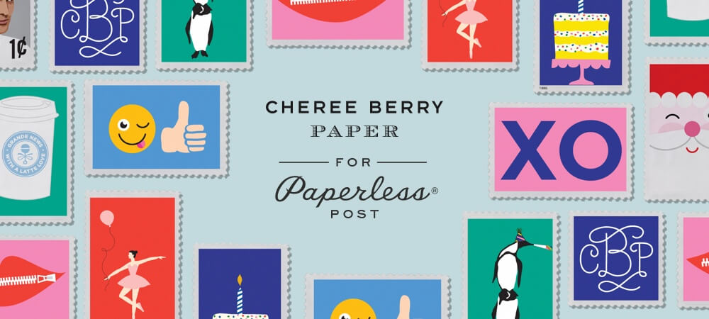 Cheree Berry for Paperless Post